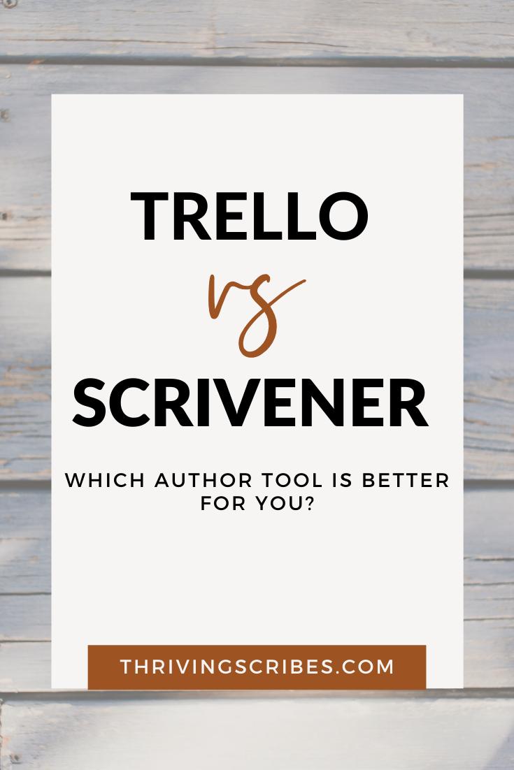 trello vs scrivener