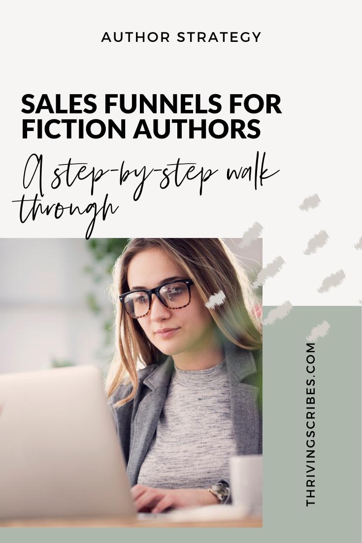 sales funnel for fiction authors