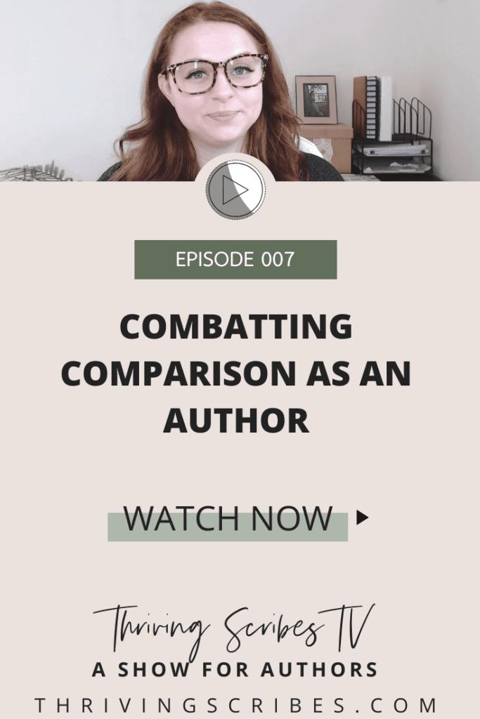 comparison as an author