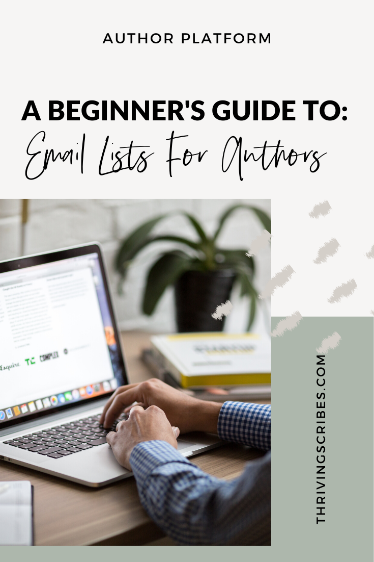 email lists for authors