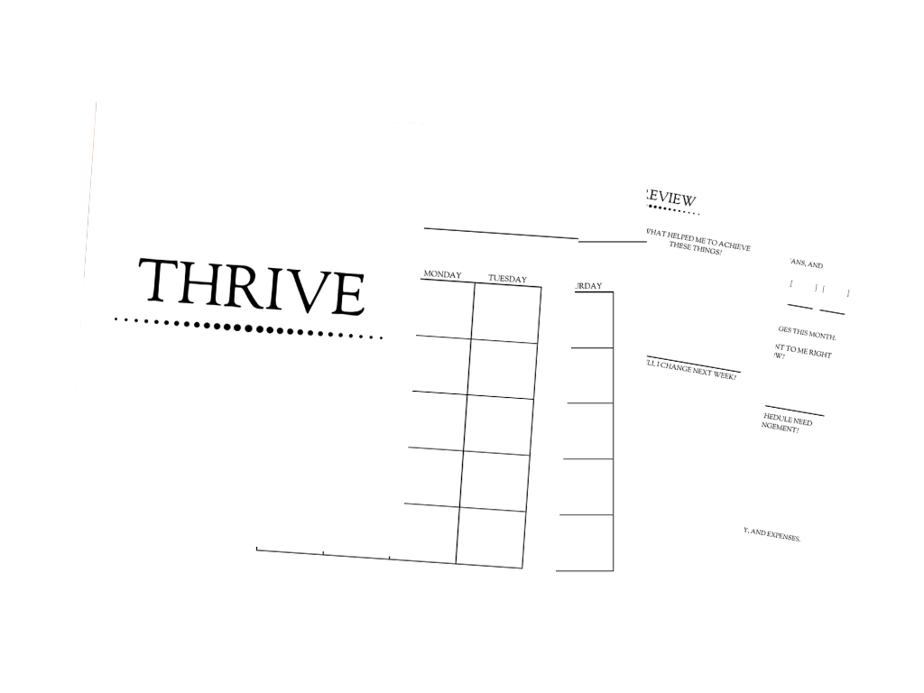 Thriving Scribes Planner | Thriving Scribes