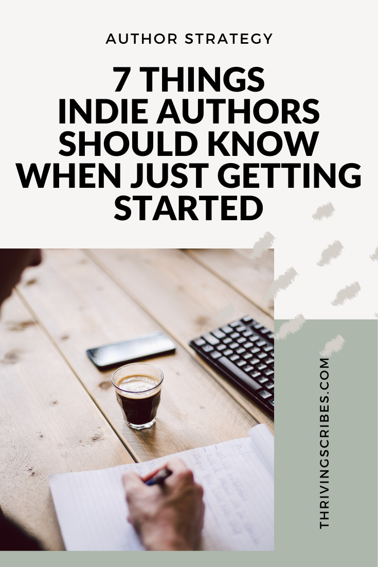 Things Indie Authors Should Know When Just Getting Started