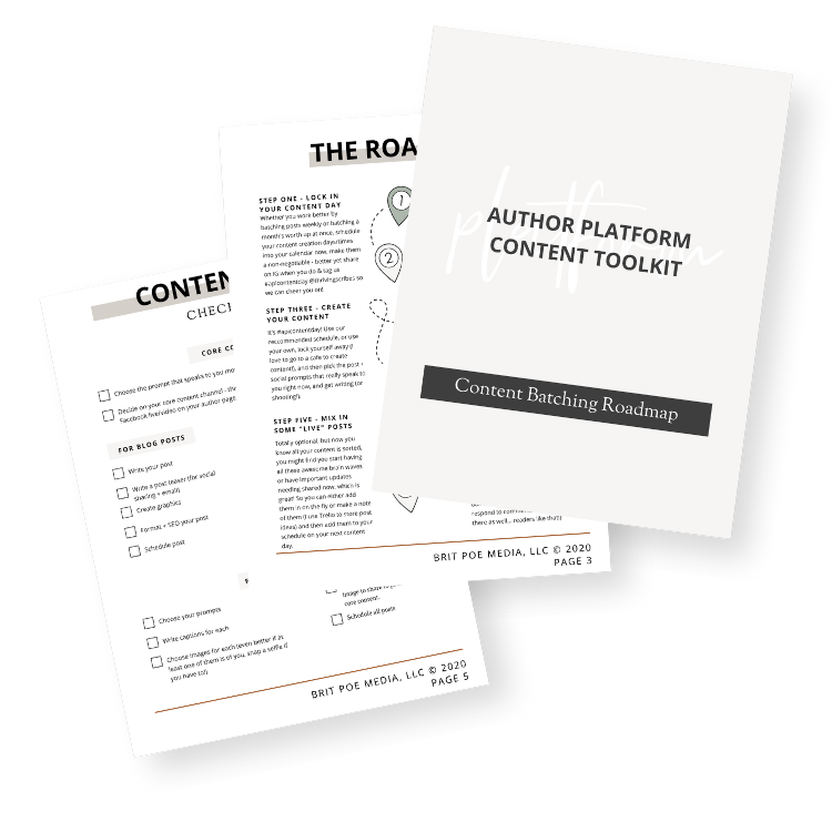 Author Content Batching Roadamp