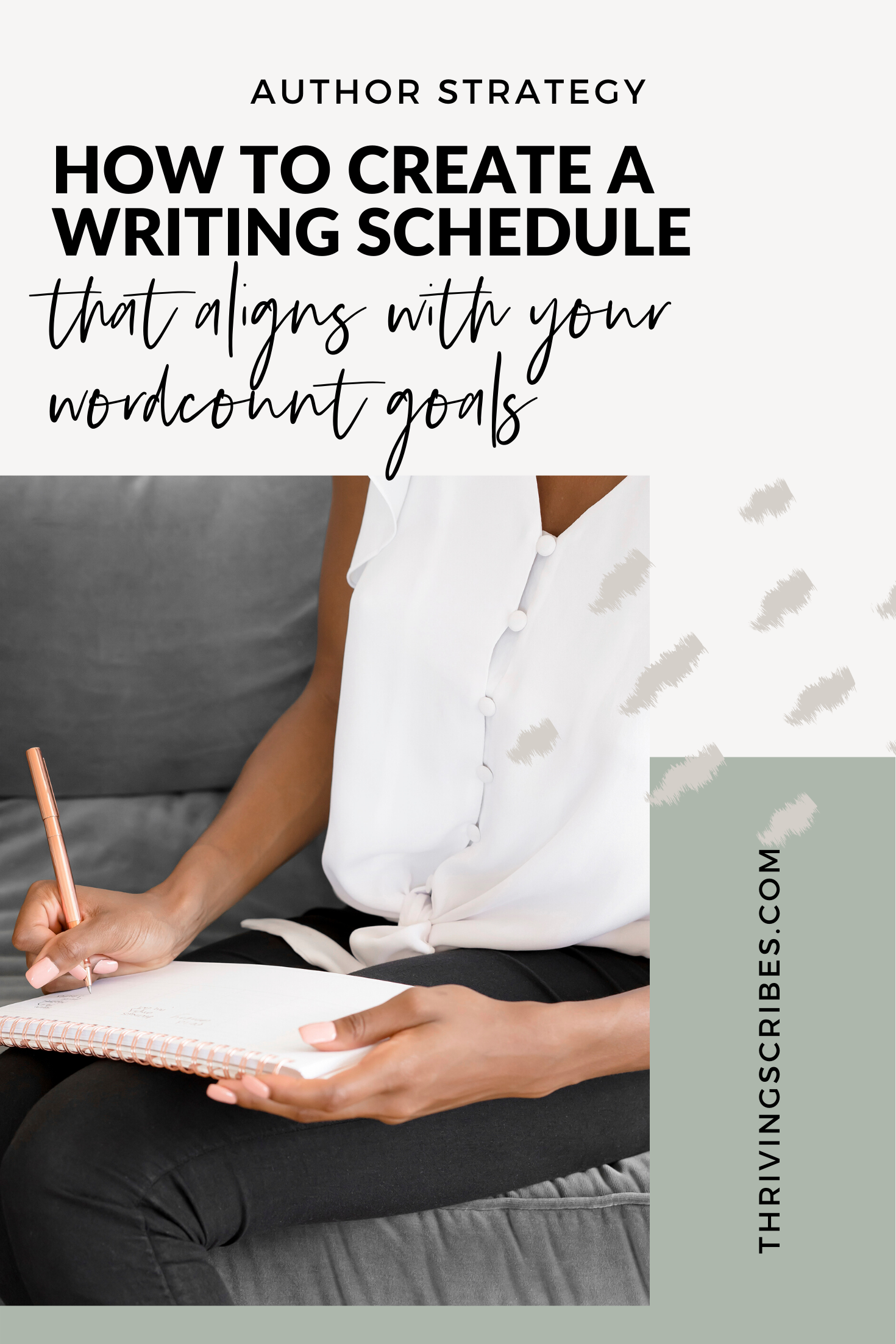 How To Create A Writing Schedule That Aligns With Your Goals